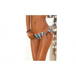 "String Panty ""Country"" vel. 40 181 (brown-check)+"